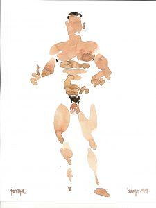 Autor Jorge Bayo - Acuarela - Gay Arte Madrid