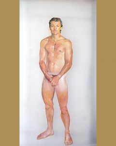 Franz, 2016 by Jorge Bayo at Gay Art Madrid